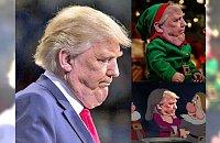 Internauci wyśmiewają podwójny podbródek Donalda Trumpa! Powstało mnóstwo ośmieszających go zdjęć przerobionych w Photoshopie. Śmieszne czy już straszne...?