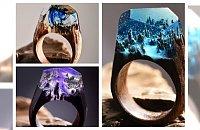 Mały fantastyczny świat ukryty w....pierścionku! Biżuteria pełna magii