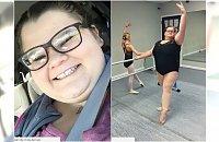 Otyła 15-latka tańczy balet. Jak jej idzie?