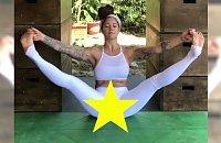 Instruktorka jogi broni kobiecości, pokazując TO!