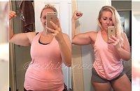 Tłuszcz vs. mięśnie. Fit mama waży tyle samo, lecz sylwetkę ma zupełnie inną. Dieta to nie wszystko!