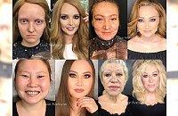 Niewyobrażalne metamorfozy bez grama Photoshopa! Wiedziałyśmy, że make-up działa cuda, ALE ŻE AŻ TAKIE?!