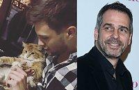 Syn Pawła Deląga dorósł i jest SUPER PRZYSTOJNIAKIEM. I ma pięknego kota