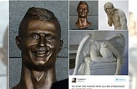 Internet śmieje się z koszmarnego popiersia Cristiano Ronaldo. Zobaczcie GENIALNE MEMY!