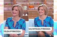 """Wesoła Zamachowska rozmawia o zmarłym Pyrkoszu. Widzowie oburzeni: """"Zero empatii, zero wyczucia sytuacji"""""""