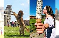 Jeśli uważasz, że zdjęcia z krzywą wieżą w Pizie są nudne, to z pewnością nie widziałeś TEJ GALERII!