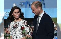 Księżna Kate i książę William na spotkaniu z Lechem Wałęsą. Kreacja piękna, ale czy odpowiednia do okazji?