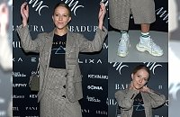 Jessica Mercedes zaskakuje niecodzienną stylizacją. O co chodzi z tymi butami?