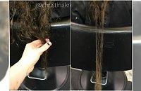 Fryzjerka pokazała, jak wyglądają włosy po ciąży. KOSZMAR! Też przez to przechodziłyście?