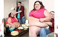 Pamiętacie ją? Pochłaniała 10000 kalorii dziennie, by być najgrubszą kobietą świata. CIĄŻA bardzo ją zmieniła!