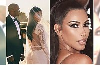 Kim Kardashian pokazała NIGDY NIEPUBLIKOWANE zdjęcie ze ślubu z Kanye Westem!