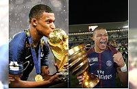 Kylian Mbappe najlepszym młodym zawodnikiem tegorocznego Mundialu! Fani oszaleli na jego punkcie!