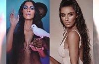Kim Kardashian jako NAGA BOGINI SEKSU! Odsłoniła piersi, pupę i COŚ jeszcze!