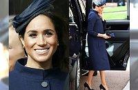 Czy Meghan Markle może być w CIĄŻY? Zdjęcia ze ślubu księżniczki Eugenii na to wskazują!