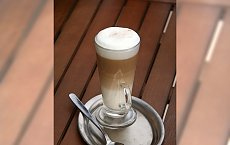 Pyszna kawa latte