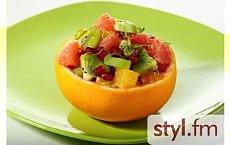 Cytrusowa sałatka owocowa