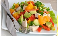 Melonowa sałatka