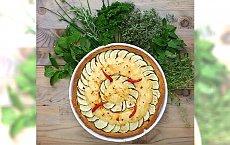 Szef kuchni poleca: tarta serowa z cukinią