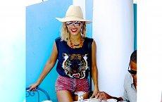 Beyonce na wakacjach z rodziną - galeria zdjęć