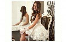 Nowoczesna panna młoda - krótkie suknie ślubne