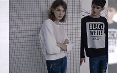 "Jeans w interpretacji Pull&Bear - lookbook ""Blue"""