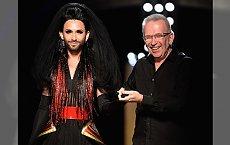 Conchita Wurst zadebiutowała na pokazie Jean Paul Gaultier haute couture