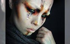 Sztuka wypisana na twarzy - makijaże artystyczne