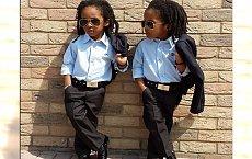 Mała moda x2: stylowe bliźniaki na Instagramie