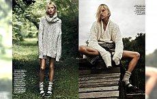 High fashion czy promowanie anoreksji, czyli spór o sesję z Anją Rubik
