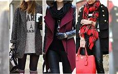Modne stylizacje z płaszczem na jesień i zimę