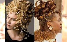 Dziwaczne fryzury damskie