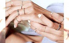 Knuckle rings - delikatne pierścionki na połowę palca