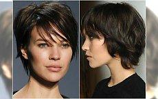 Krótkie fryzury bez zbędnej stylizacji. Postaw na naturalny look!