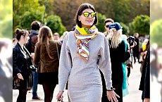 15 inspiracji jak nosić szale na zimę