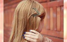 Niekonwencjonalne użycie wsuwek - Ciekawe dodatki do włosów