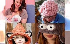 Najdziwniejsze czapki zimowe - trendy 2015