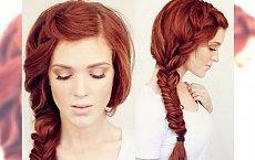 Zaczaruj Święta - propozycje fryzur z długich włosów