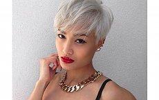 Wigilia 2014 - fryzury dla blondynek o krótkich włosach