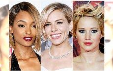 Krótkie fryzury w wieczorowym wydaniu. Podpatrujemy styl gwiazd