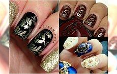 Manicure barokowy - eleganckie paznokcie na święta