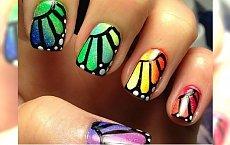 Efekt motyla na paznokciach