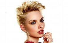 Unikatowe i niesamowicie modne - krótkie fryzury z wygolonymi bokami!