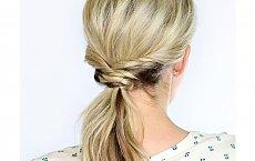 Pleciony kucyk - efektowna fryzura na co dzień