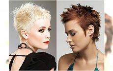 Nowoczesny jeżyk - galeria bardzo krótkich fryzur damskich