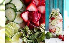 10 przepisów na pyszną owocową wodę, dzięki której będziesz regularnie się nawadniać