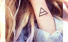 Tatuaż geometryczny - strzałki, trójkąty, koła i inne modne wzory