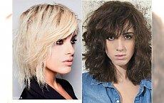 Cieniowane fryzury z grzywką dla półdługich włosów - 23 śliczne cięcia
