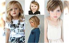 Modne fryzury dla dziewczynek - galeria fryzur dla małych elegantek