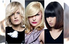 Modne fryzury z grzywką. Jeszcze więcej propozycji dla włosów średniej długości!