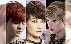 Krótkie fryzury z grzywką - galeria z modnymi fryzurami 2015
